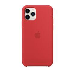 [정품]아이폰 11 Pro 실리콘 케이스 - 레드
