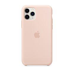[정품]아이폰 11 Pro 실리콘 케이스 - 핑크샌드