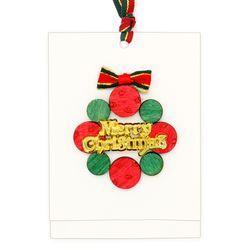 크리스마스 소원카드(5인세트)-리스