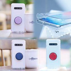 아이폰8 NuDobleTok 그립톡 풀커버 젤리 케이스
