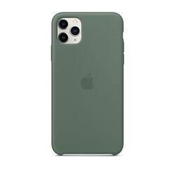 [정품]아이폰 11 Pro Max 실리콘 케이스 - 파인 그린