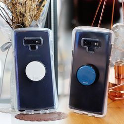 갤럭시S8 (G950) NeveTok 스마트 그립톡 투명 범퍼 젤리 케이스