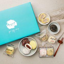 시루아네 정성 종합세트+쇼핑백+보자기