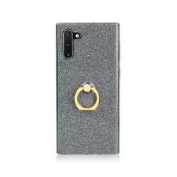 아이폰5 스탠드 글리터 링 유니크 젤리 케이스 P337