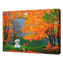 [명화그리기]3040 에이번리 마을의 가을-다이애나의 숲 21색