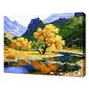 [명화그리기]4050 풍요의 황금나무 26색 풍경화