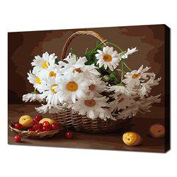 [명화그리기]4050 구절초 핀 바구니 정물 26색 정물화