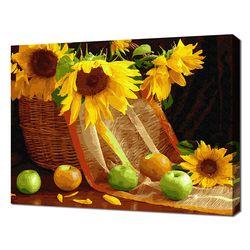 [명화그리기]4050 해바라기와 사과 28색 정물화