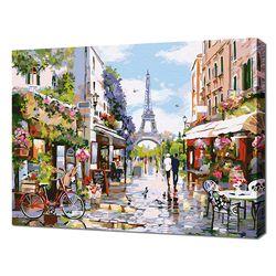 [명화그리기]4050 파리의 생미셀 골목길 29색 풍경화