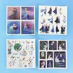 디즈니 겨울왕국 2 홀로그램 스티커 세트 ver.1