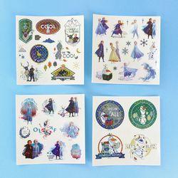 디즈니 겨울왕국 2 홀로그램 스티커 세트 ver.2