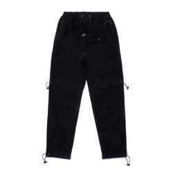 TRIANGLE FLEECE JOGGER PANTS BLACK