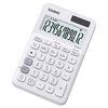 카시오 계산기 MU-20UC-WE 화이트 사무용품 전자계산