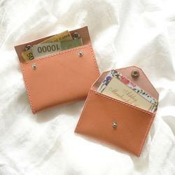 2-way Card Case-Dark Coral