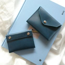 2-way Card Case-Blue