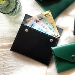 2-way Card Case-Black