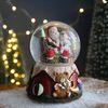 크리스마스 스노우볼 오르골 워터볼L - 산타클로스B -막스(MARKS