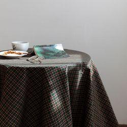 온더초코나무숲 식탁보 테이블보 170x140cm 테이블러너
