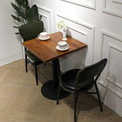 멀바우빈티지카페인테리어디자인 600 사각 테이블