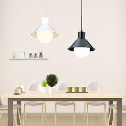 코디 2등 펜던트 블랙&화이트 주방등 식탁등 인테리어조명