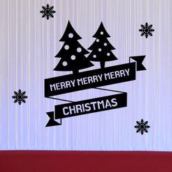 ii814-메리크리스마스라벨그래픽스티커