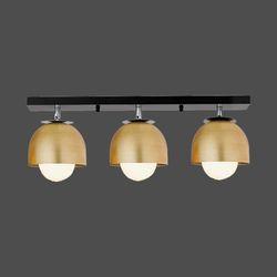 엔젤 3등 직부 황금브론즈&로즈골드 주방등 식탁등 인테리어조명
