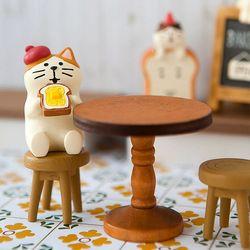 베이커리 테이블 피규어