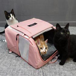 [무료배송] 아밍백 강아지 고양이 백팩 이동가방 캐리어 하우스