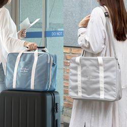 듀얼 트렁크백 (가벼운 기저귀가방 숄더백 출산가방)