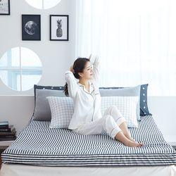 방수 난연 초코매트리스 침대형 싱글 10cm