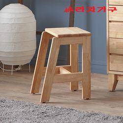 아넥 원목 화장대 의자