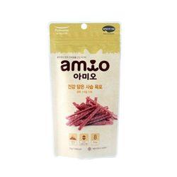 맛있는 강아지간식 아미오 건강 담은 사슴 육포 50g