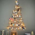 베베데코 크리스마스 벽트리 미니트리 장식 풀세트