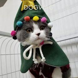 빅스타 폼폼이 망토 강아지 겨울 아우터 고양이 케이프