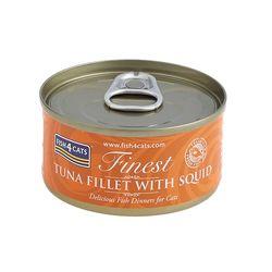 피쉬포캣 캔 70g 참치 오징어 10개 1박스 고양이간식고양이참치