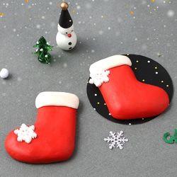산타양말비누만들기(4개)크리스마스비누재료