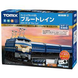 철도모형 베이직세트SD - 블루 트레인 (N게이지)