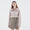 SILKY SHIRTS BLOUSE BEIGE