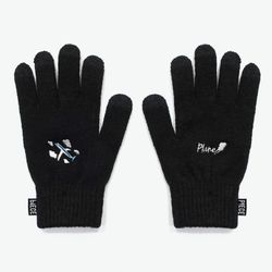 PLANE SMART GLOVES (BLACK)