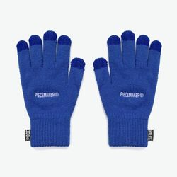 BASIC LOGO SMART GLOVES (BLUE)