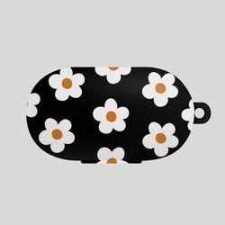 버즈 데이지 꽃 패턴