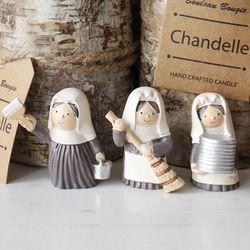 봉사 수녀인형 3종 set