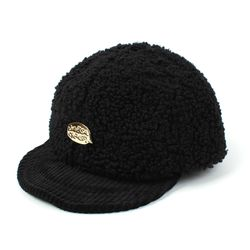 Fleece GDMT Black Bike Cap 플리스바이크캡