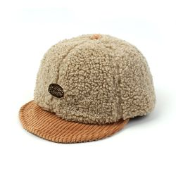 Fleece Beige Bike Cap 플리스바이크캡
