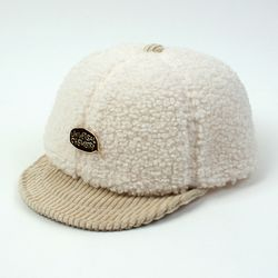Fleece Ivory Bike Cap 플리스바이크캡