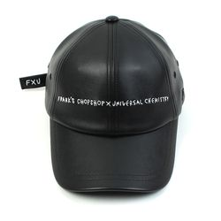 FRANK|@|S CHOPSHOP Collabo Logo Leather Ballcap