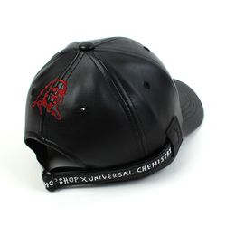FRANK|@|S CHOPSHOP Collabo Backstrap Leather Ballcap