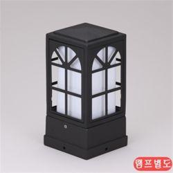 비츠온 문주등 사각 윈도우 100x100xH210 블랙