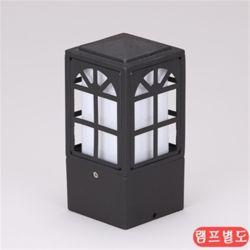 비츠온 문주등 사각 윈도우 80x80xH170 블랙