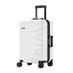 프레지던트 PJ8173 24인치 화이트 캐리어 여행가방